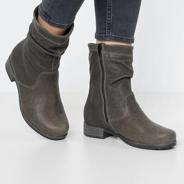 Think!, Winterstiefeletten, braun/grün  Gute Qualität beliebte Schuhe