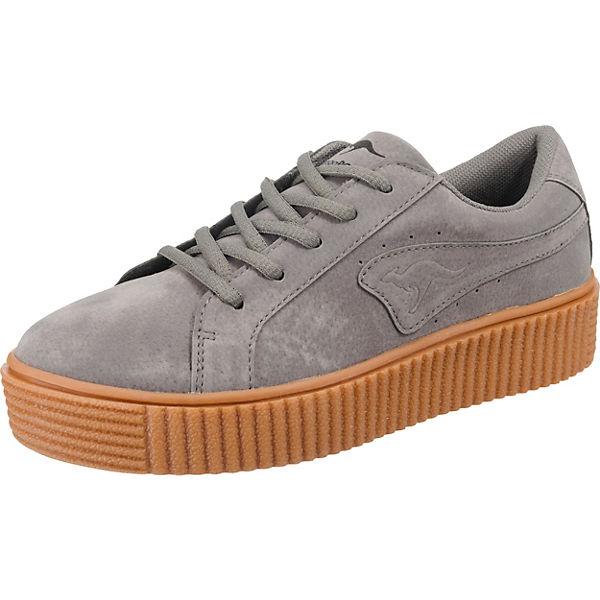 KangaROOS Sneakers Low grau