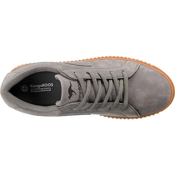 KangaROOS, Sneakers Sneakers KangaROOS, Low, grau   e515b5