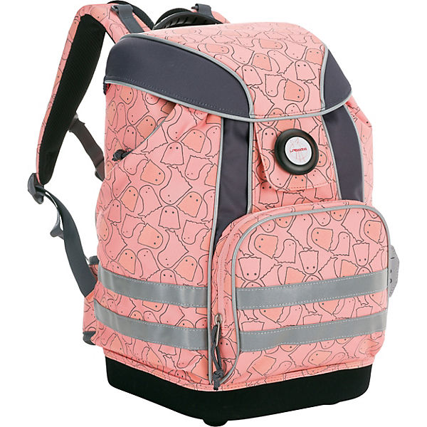 Schulranzen 4Kids, School Bag, Spooky peach