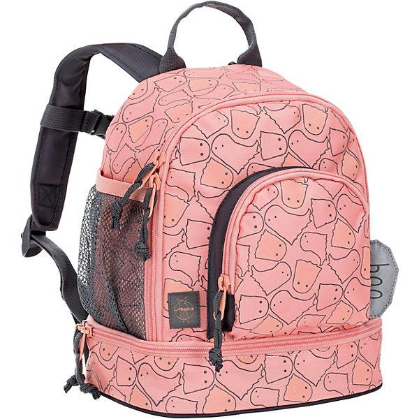 Lassig Kindergarten Rucksack 4kids Mini Backpack Spooky Peach Orange Mirapodo