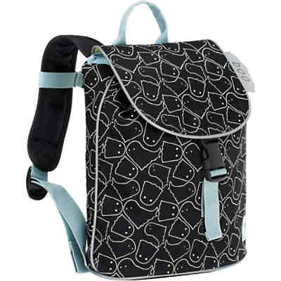 Kindergarten-Rucksack 4Kids, Mini DuffleBackpack, Spooky black