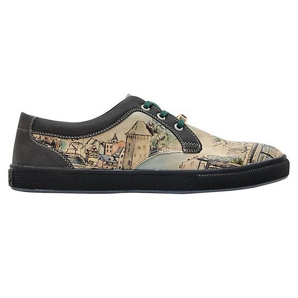 a Walk Cord Shoes mehrfarbig Low Dogo Take Sneakers wqAtT4x
