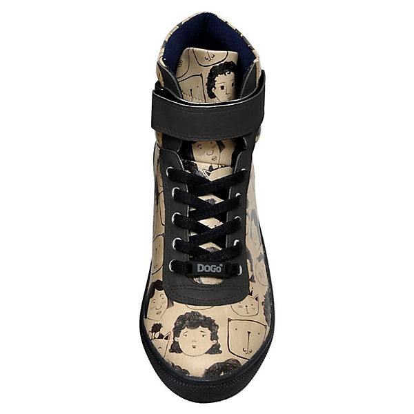 Dogo Schuhes, Wavy Home High, is Where Your Cat is Sneakers High, Home mehrfarbig  Gute Qualität beliebte Schuhe 112fe2