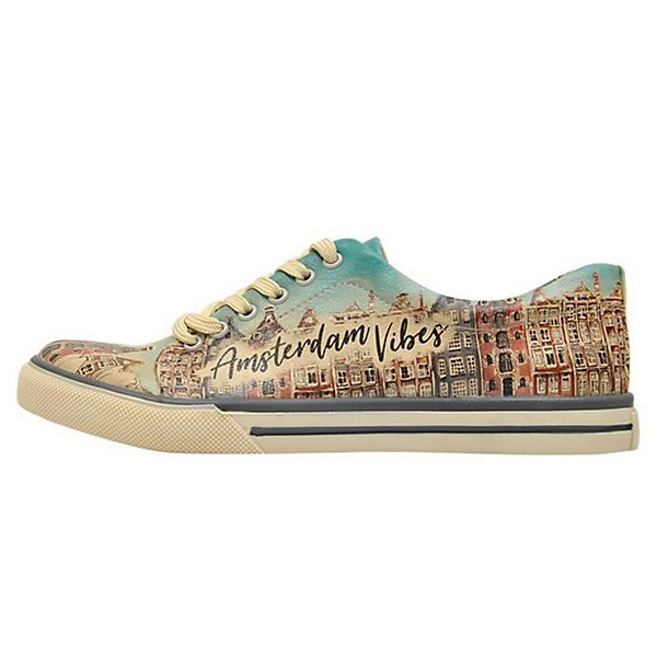 Low Shoes Sneakers Dogo Amsterdam mehrfarbig Vibes gqxUw