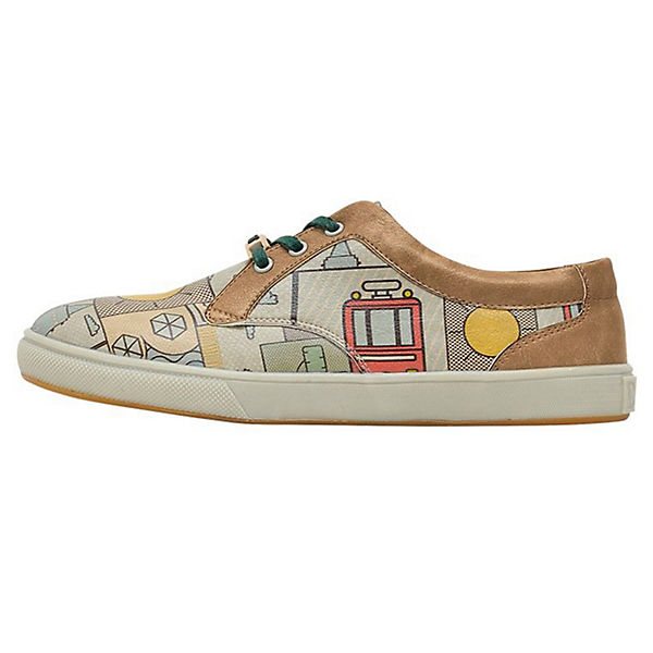 Cord Sunshine Sneakers Low