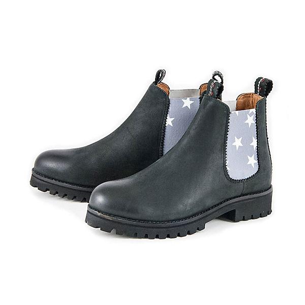 STONE Chelsea Boots STONE CRICKIT Chelsea Boots CRICKIT Boots CRICKIT schwarz schwarz Chelsea STONE wAq1XA6