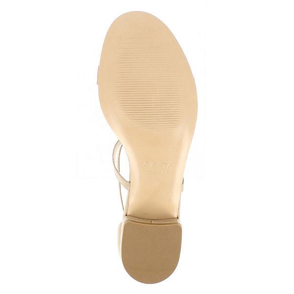 Steg beige Evita Sandalen SALVINA Shoes T Pqqw74t6