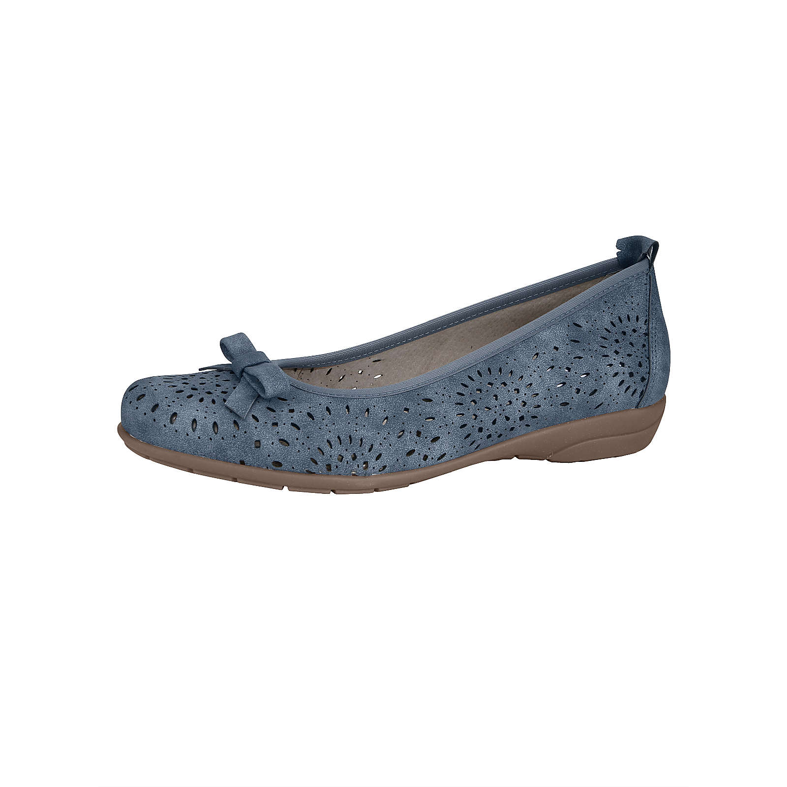 JENNY Klassische Ballerinas blau Damen Gr. 40