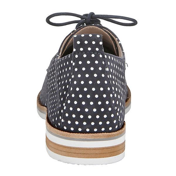CAPRICE,  Schnürschuhe, dunkelblau  CAPRICE, Gute Qualität beliebte Schuhe ef9f16