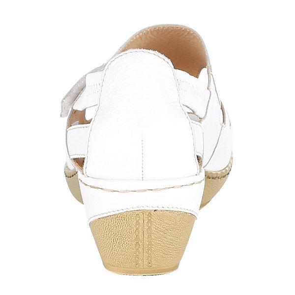 CAPRICE, Klassische Sandaletten, weiß Schuhe  Gute Qualität beliebte Schuhe weiß 6ff6db