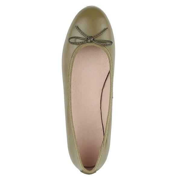 Wenz Wenz Ballerinas Klassische khaki Klassische r5Iwrtq