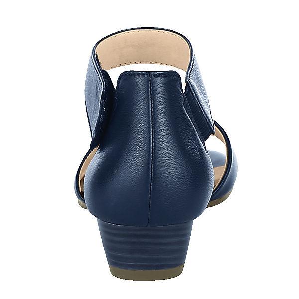 CAPRICE, Qualität Klassische Sandaletten, dunkelblau  Gute Qualität CAPRICE, beliebte Schuhe 0b7611