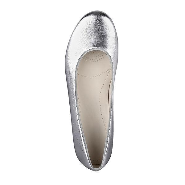 JENNY, Klassische Klassische JENNY, Ballerinas, silber   c3beb3