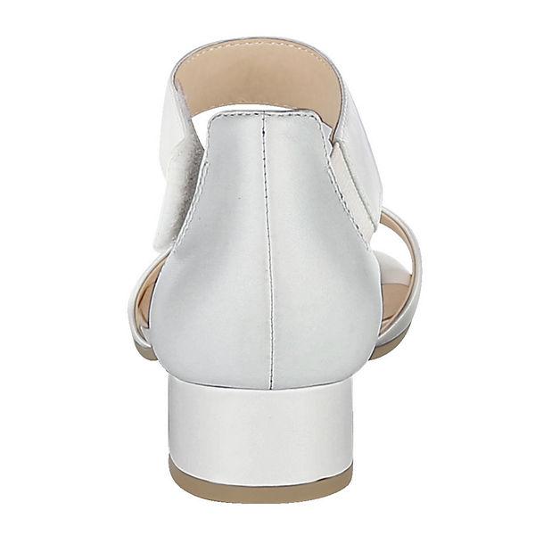 CAPRICE, Klassische Sandaletten, weiß weiß Sandaletten,   1a5159