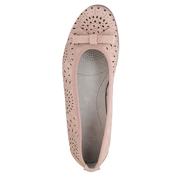 JENNY, Klassische Ballerinas, rosa Schuhe  Gute Qualität beliebte Schuhe rosa ba7b7f