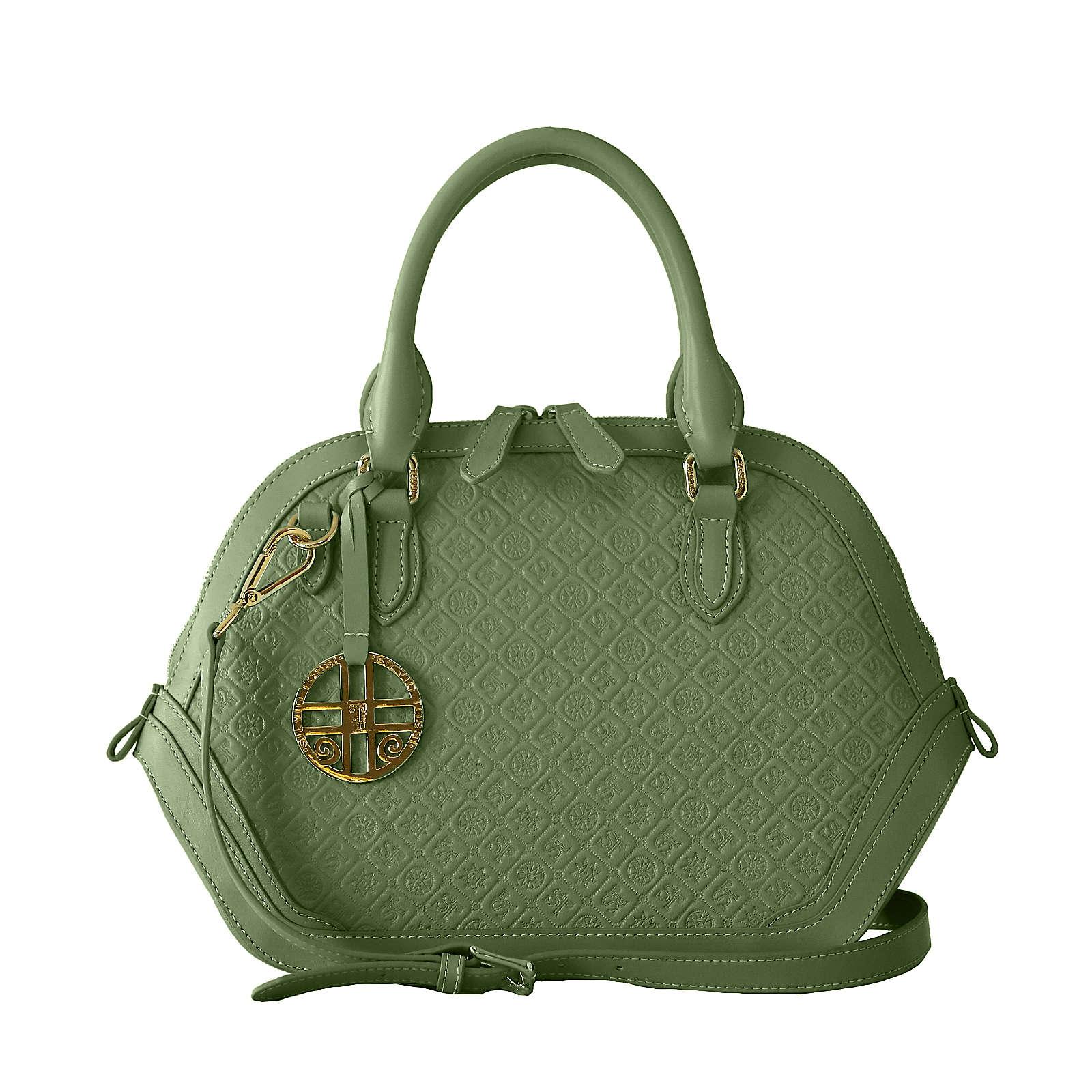 Silvio Tossi Handtaschen grün Damen
