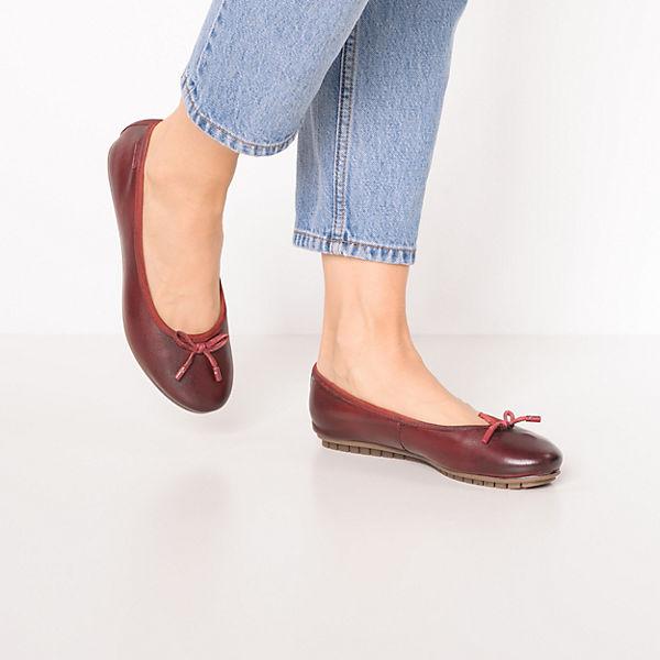 bugatti, Klassische Ballerinas, rot  Gute Qualität beliebte Schuhe
