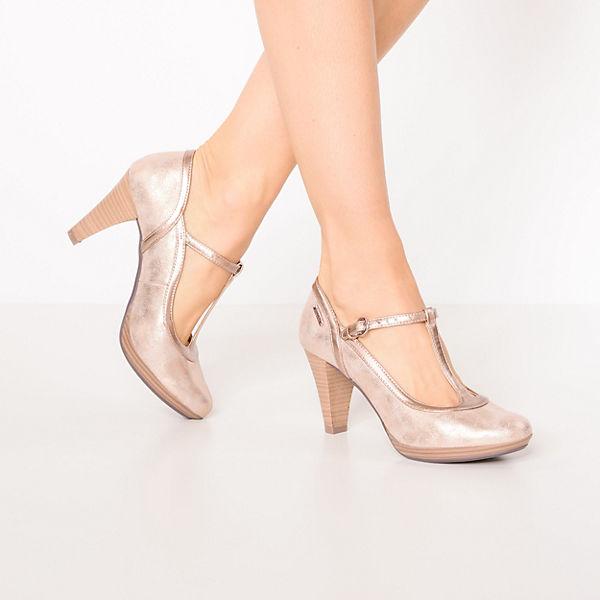 bugatti, T-Steg-Pumps, kupfer  Gute Qualität beliebte Schuhe