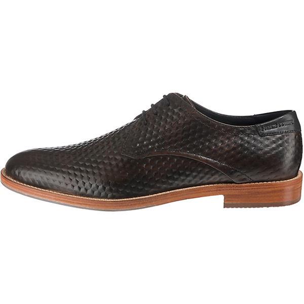 DANIEL HECHTER, Business-Schnürschuhe, dunkelbraun Schuhe  Gute Qualität beliebte Schuhe dunkelbraun 0641b4