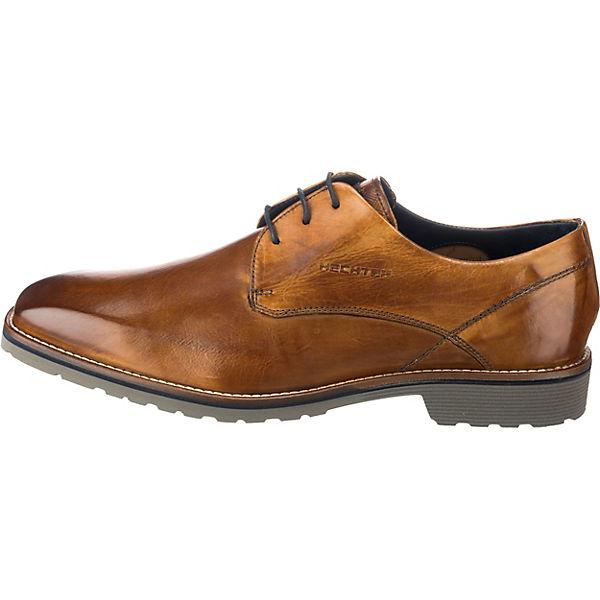 DANIEL HECHTER, Business-Schnürschuhe, cognac  Gute Gute Gute Qualität beliebte Schuhe 3dfcee