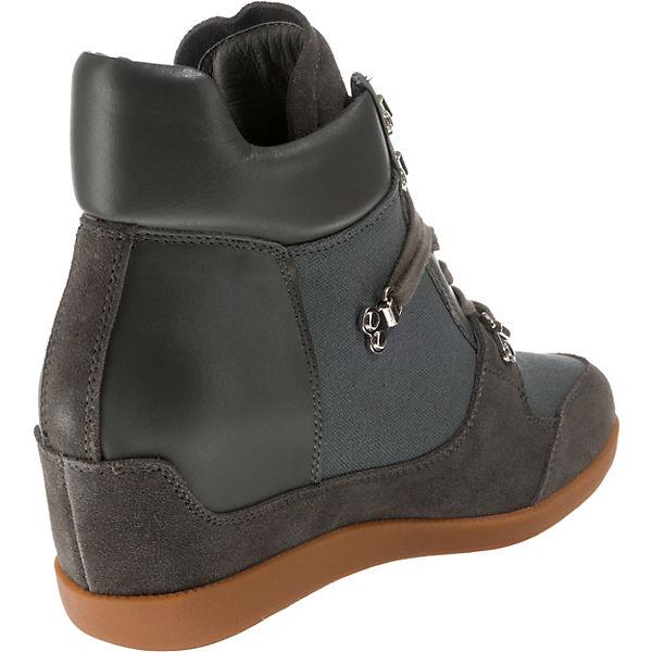 the grau shoe bear the Keilstiefeletten shoe bear wU0Sq8Z