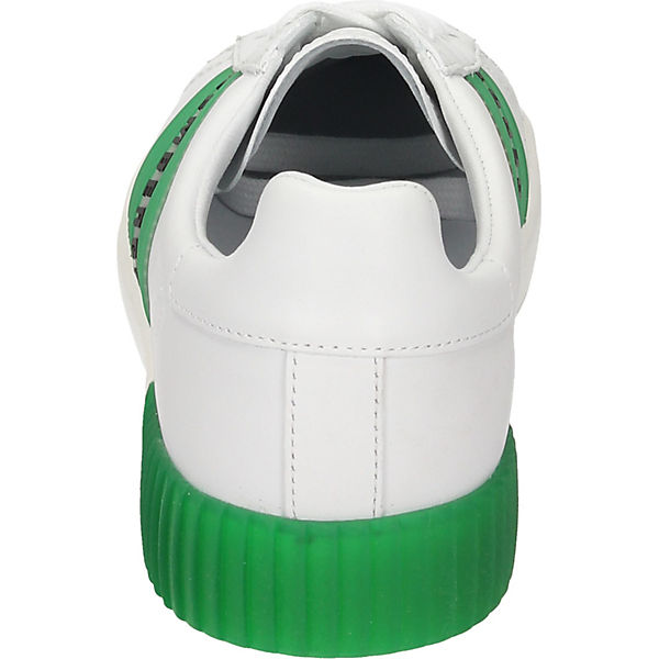 Low Bikkembergs grün Bikkembergs weiß Sneakers Sneakers Low grün fTxSSwXqHt
