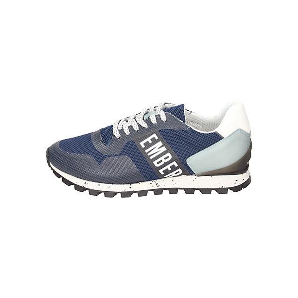 Bikkembergs, Gute Sneakers Low, blau  Gute Bikkembergs, Qualität beliebte Schuhe 4b9d9d