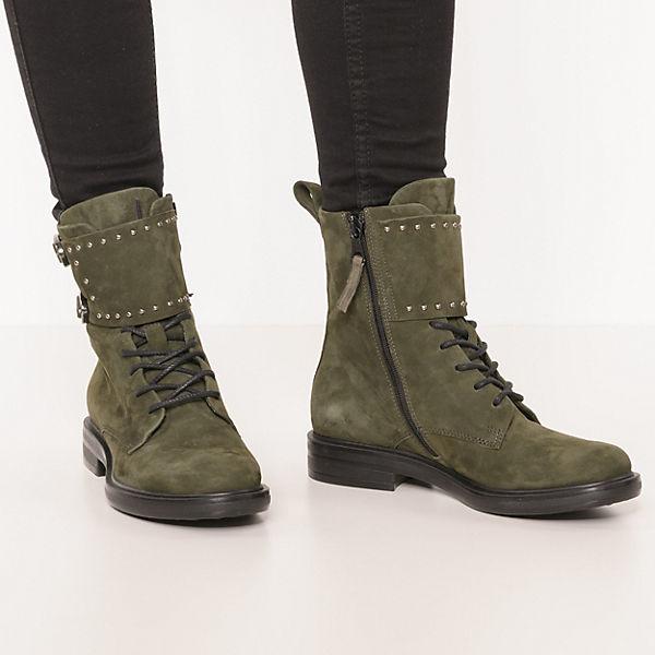 JOLANA & FENENA CAFE Klassische Stiefeletten dunkelgrün  Gute Qualität beliebte Schuhe