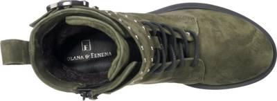 JOLANA & FENENA, Klassische Stiefeletten, grün | mirapodo