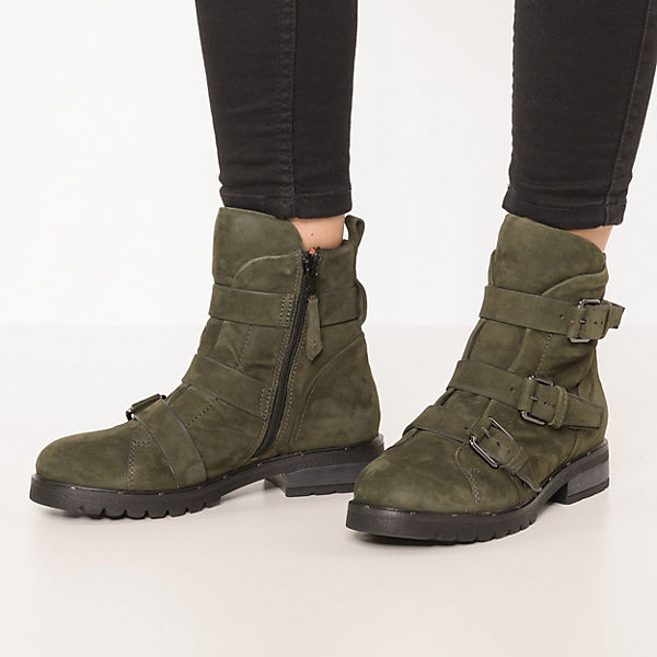 JOLANA & FENENA PEPES Klassische Stiefeletten dunkelgrün  Gute Qualität beliebte Schuhe