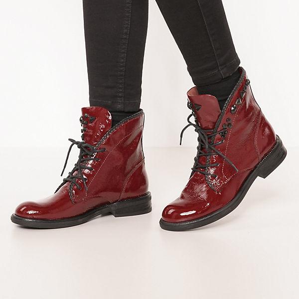 JOLANA & FENENA PAL Klassische Stiefeletten bordeaux  Gute Qualität beliebte Schuhe
