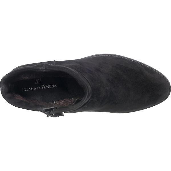 JOLANA & Gute FENENA, FLYN Klassische Stiefeletten, schwarz  Gute & Qualität beliebte Schuhe 6f0b66