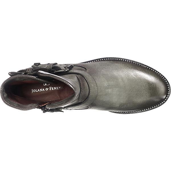JOLANA JOLANA JOLANA & FENENA, ZARKO Klassische Stiefeletten, grau  Gute Qualität beliebte Schuhe 206ca7