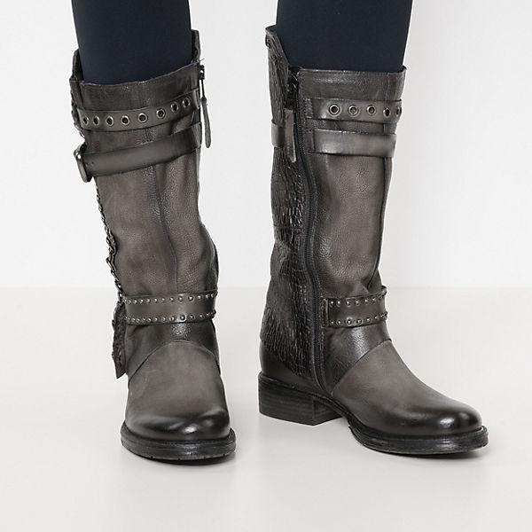 JOLANA & FENENA NORTON Klassische Stiefel grau  Gute Qualität beliebte Schuhe