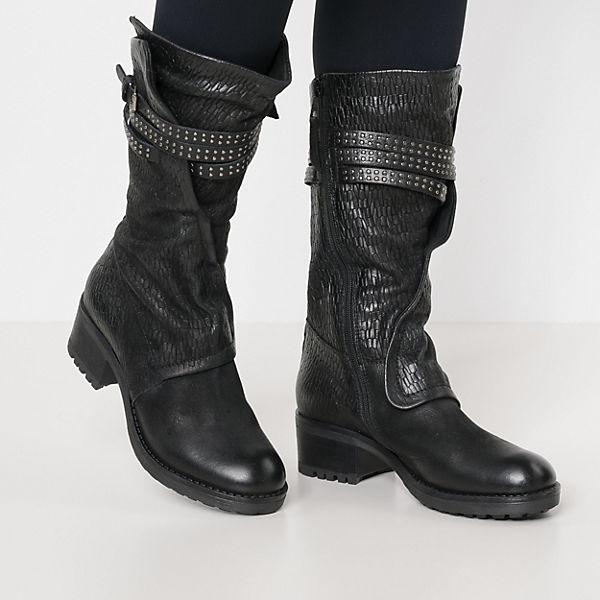 MJUS, MISA Stiefel, Klassische Stiefel, MISA schwarz   9cb097