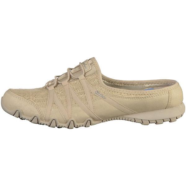 SKECHERS, Pantoletten, natur  Gute Schuhe Qualität beliebte Schuhe Gute 6592d7