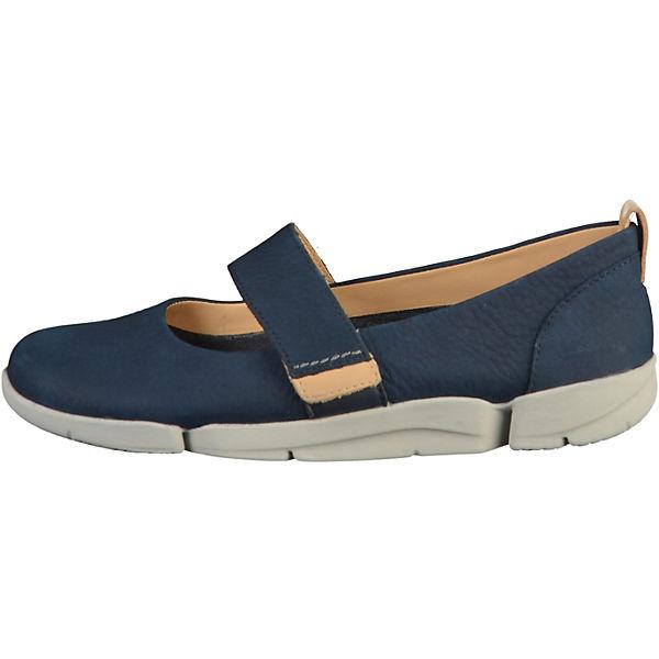 Clarks Klassische Ballerinas dunkelblau  Gute Qualität beliebte Schuhe