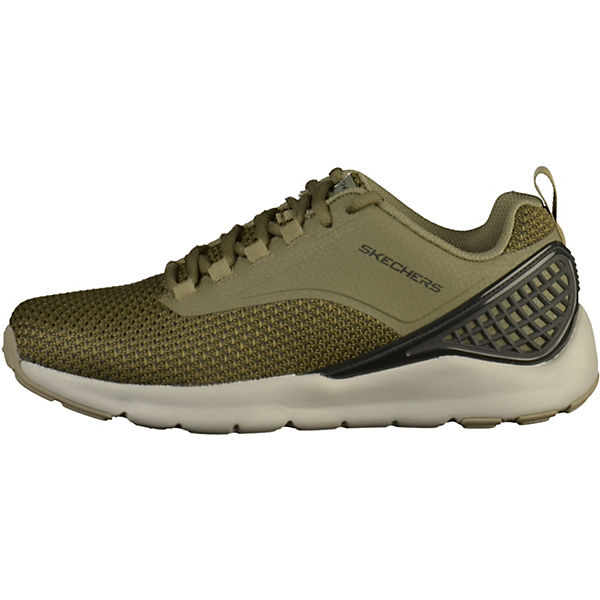 SKECHERS, Sneakers Low, khaki/schwarz  Schuhe Gute Qualität beliebte Schuhe  3ba9f1