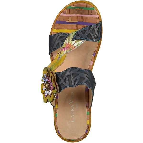 Laura Vita, Pantoletten, blau  Schuhe Gute Qualität beliebte Schuhe  98d95b
