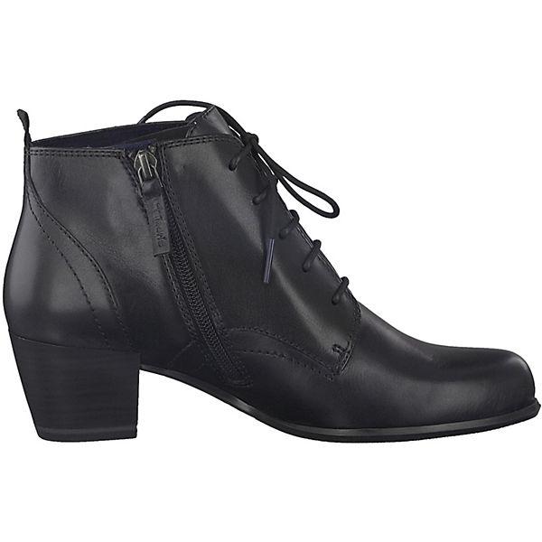 Tamaris, Schnürstiefeletten, schwarz  beliebte Gute Qualität beliebte  Schuhe 561f2d