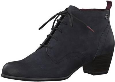 c4789ecf32b010 Tamaris Charlotte Damen Stiefeletten Boots Größe 42 Blau Blau ...