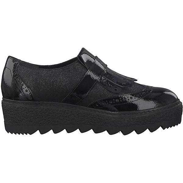 Tamaris Klassische Slipper schwarz  Gute Gute Gute Qualität beliebte Schuhe 5c6e07
