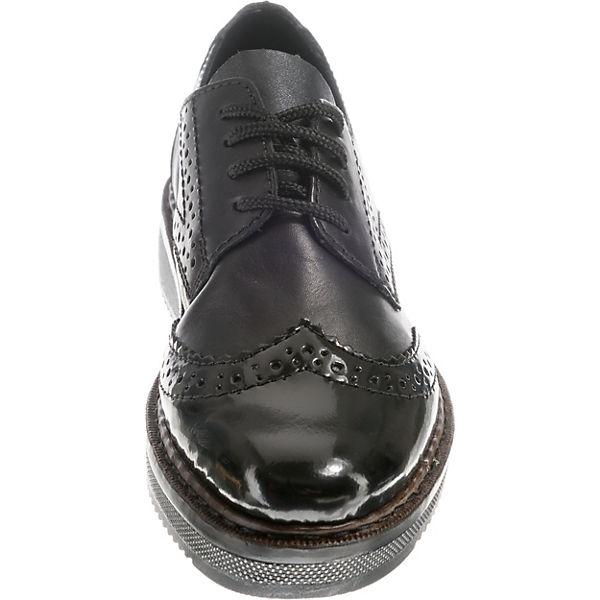 rieker Qualität Schnürschuhe schwarz  Gute Qualität rieker beliebte Schuhe 48febf