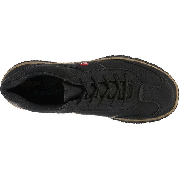 schwarz schwarz Schnürschuhe rieker Schnürschuhe schwarz rieker rieker Schnürschuhe Schnürschuhe schwarz rieker wBwdvXq