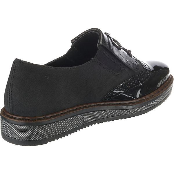 rieker Klassische Klassische Klassische Halbschuhe schwarz  Gute Qualität beliebte Schuhe ef5bf9
