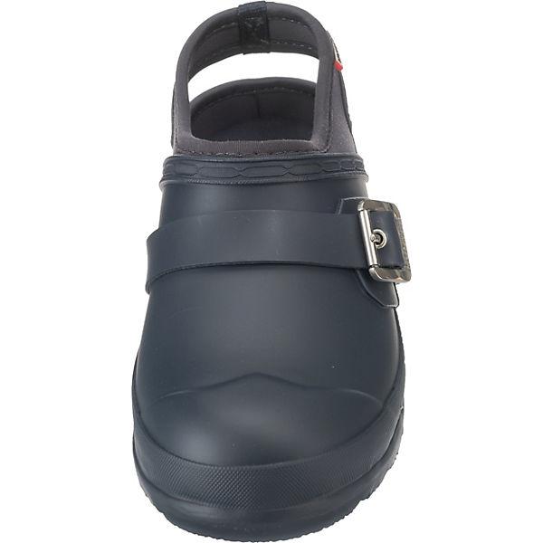 HUNTER, Womens Original Qualität Clog Clogs, blau  Gute Qualität Original beliebte Schuhe 2da0cd