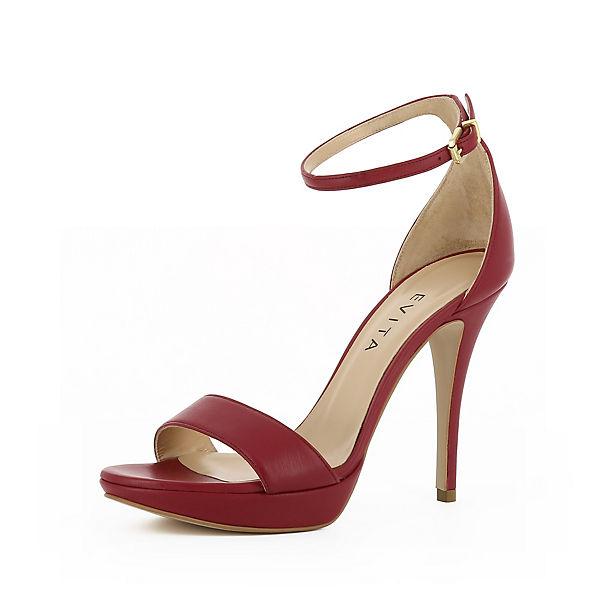 bordeaux Klassische Shoes Evita VALERIA Sandaletten SIBXfq