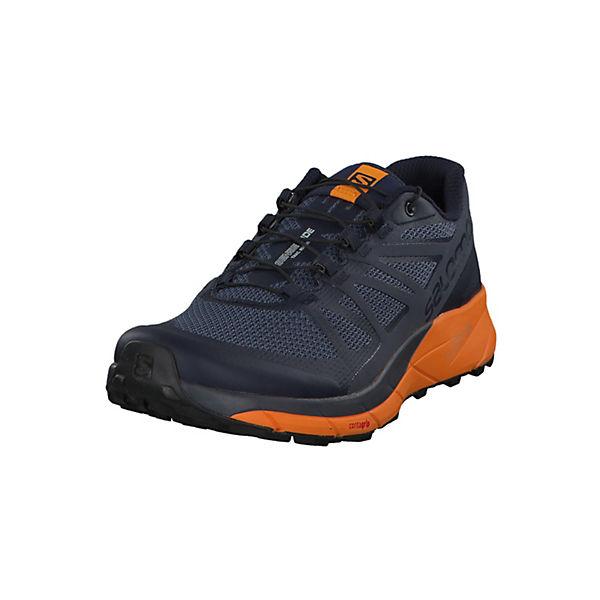 Ride Trailrunningschuhe Sense Salomon blau orange Quicklace mit 39849000 6wOxxaZ1