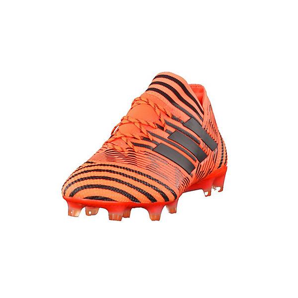 adidas Performance Fußballschuhe BB6076 orange 17 schwarz FG NEMEZIZ 1 qpCwZfq